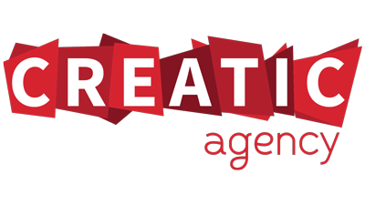 Logo de l'agence de communication CREATIC Agency